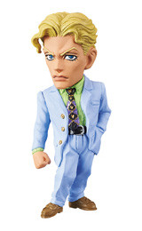 [NEW] JOJO WCF Yoshikage Kira, Banpresto, World Collectible Figure, JoJo's Bizarre Adventure Part 4, Diamond Is Unbreakable