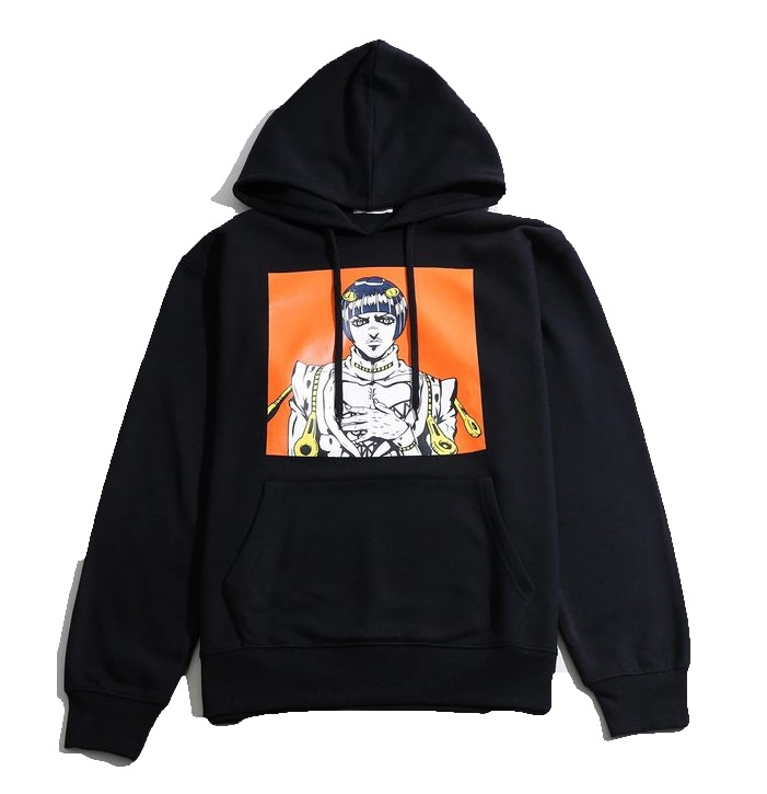 [Price 1,650/Deposit 1,000][Please Read All Detail] JOJO WEGO Bruno Bucciarati Hoodies Sweater Color Print, เสื้อฮู้ด บรูโน่ บูจาราตี้, โจโจ้ ล่าข้ามศตวรรษ ภาค 5, Jojo's Bizarre Adventure Part 5, Vento Aureo, Golden Wind