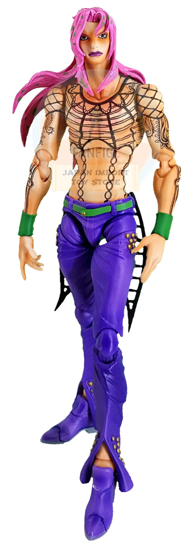 SAS JOJO Diavolo, Jojo's Bizarre Adventure Part 5, Vento Aureo, Golden Wind
