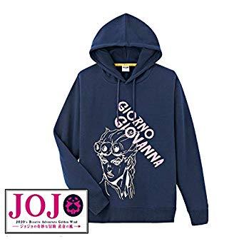 [NEW][L-Size] Shimamura JOJO Hoodie Giorno Giovanna, เสื้อฮูด โจรูโน่ โจบาน่า, Jojo's Bizarre Adventure Part 5, Vento Aureo, Golden Wind, โจโจ้ ล่าข้ามศตวรรษ ภาค 5, สายลมทองคำ