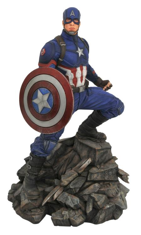 [Price 9,900/Deposit 6,000][Please Read All Detail][Q3-2019] Avengers Endgame Marvel Premier Collection Captain America Limited Edition Statue, Diamond Select Toys