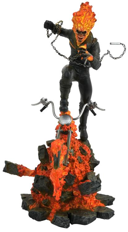 [Price 25,500/Deposit 15,500][Please Read All Detail][NOV2019] Ghost Rider Limited Edition, Marvel Statue , Diamond Select Toys
