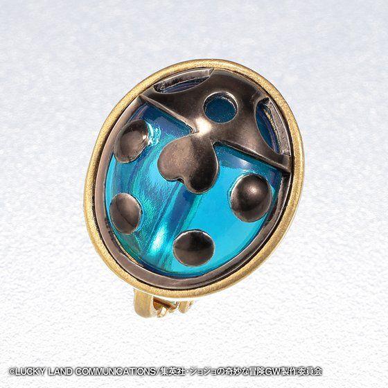 [ราคา 6,300/มัดจำ 4,500][สิงหาคม2563] JOJO Golden Wind Giorno Ladybug Earring 2, ต่างหูเต่าทอง โจรูโน่ โจบาน่า 1 ข้าง, โจโจ้ ล่าข้ามศตวรรษ ภาค 5 สายลมทองคำ, Jojo's Bizarre Adventure Part 5, Vento Aureo, Golden Wind