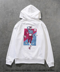 [Please Read All Detail][Price 7,500/Deposit 4,000] JOJO LOVELESS Guido Mista Hoodie WHITE, Jojo's Bizarre Adventure Part 5, Vento Aureo, Golden Wind