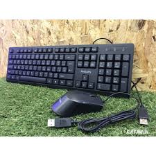 Keyboard + Mouse C234 Philips