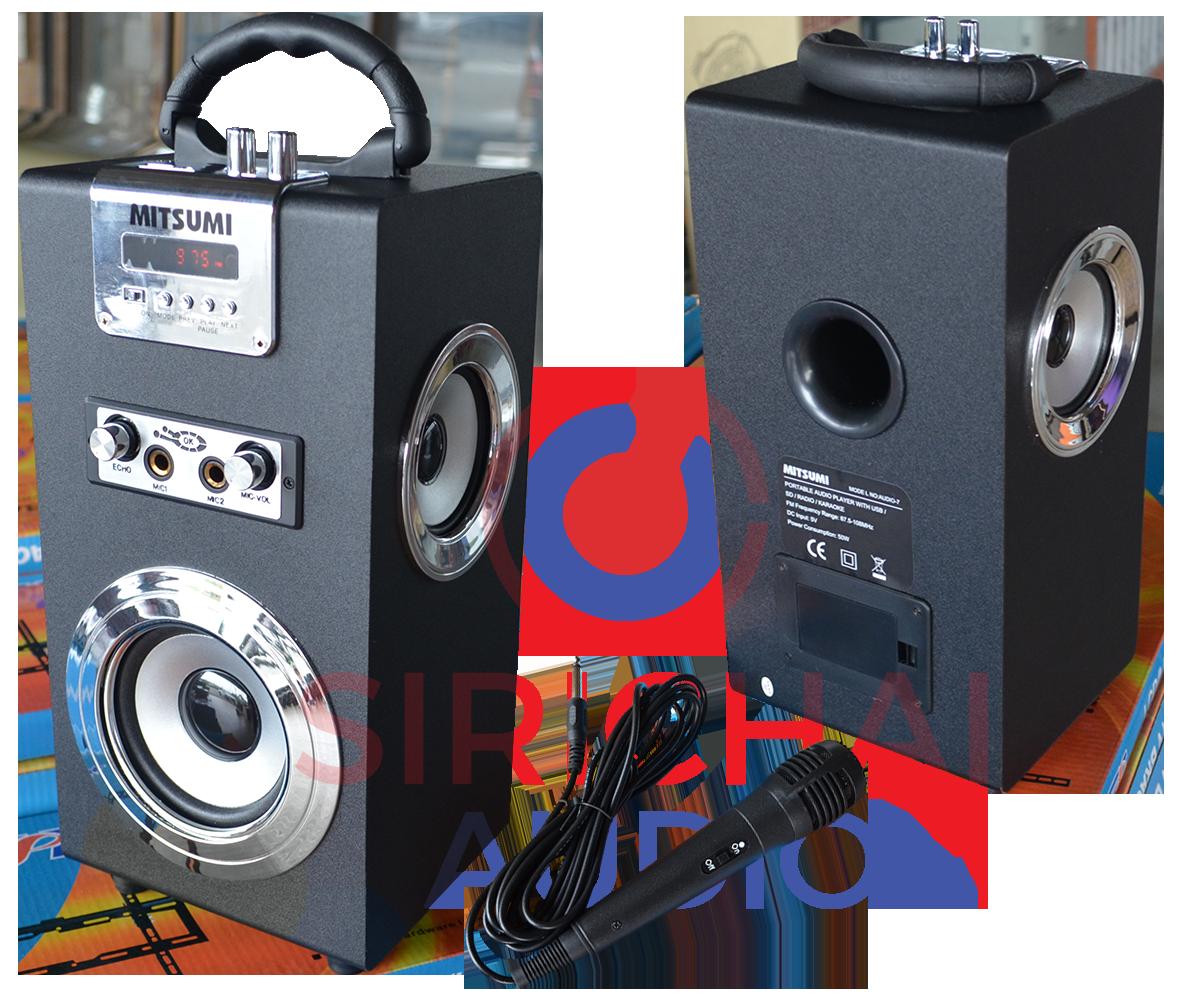 ลำโพงพกพา MITSUMI รุ่น Audio7