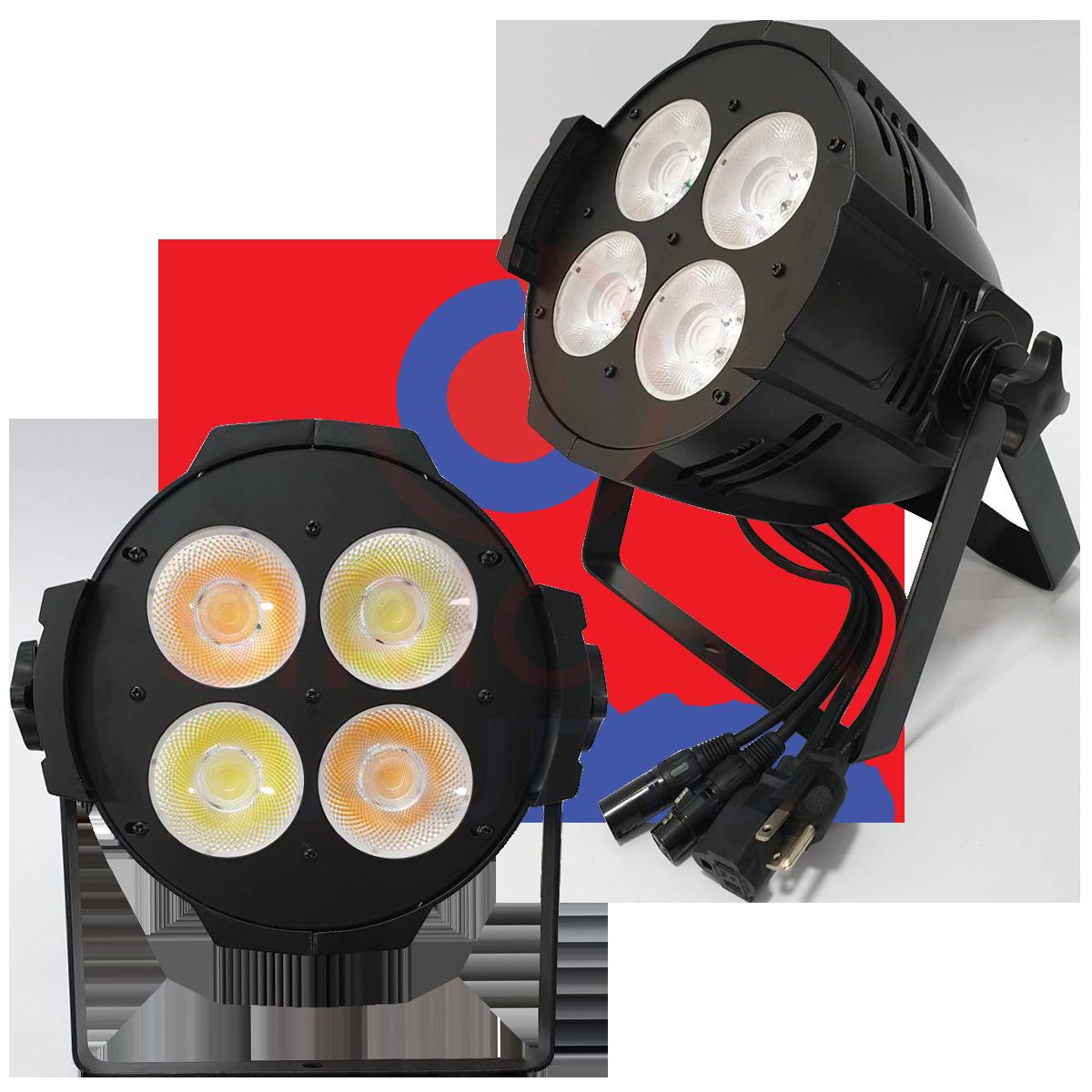 VL ไฟ COB 200W (สีขาวและสีวอม) LED 4x50