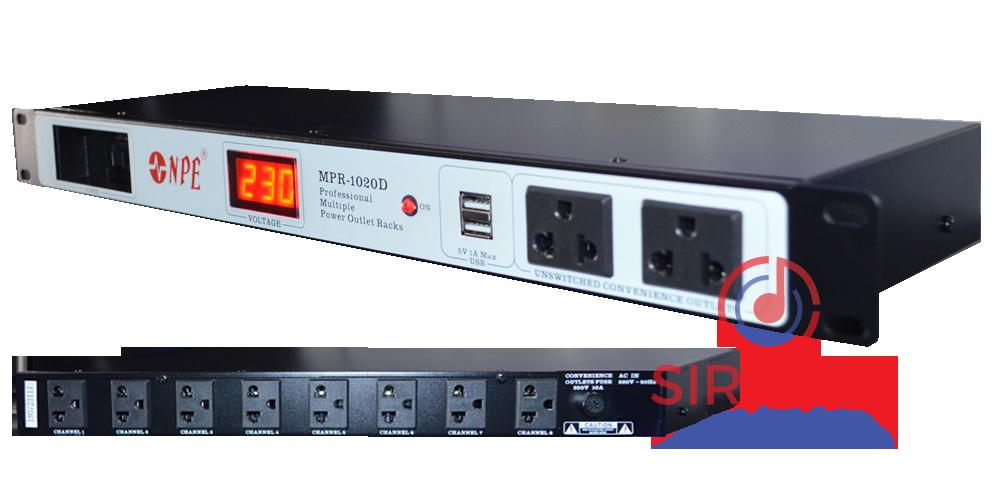 ปลั๊ก Rack NPE รุ่น MPR - 1020D
