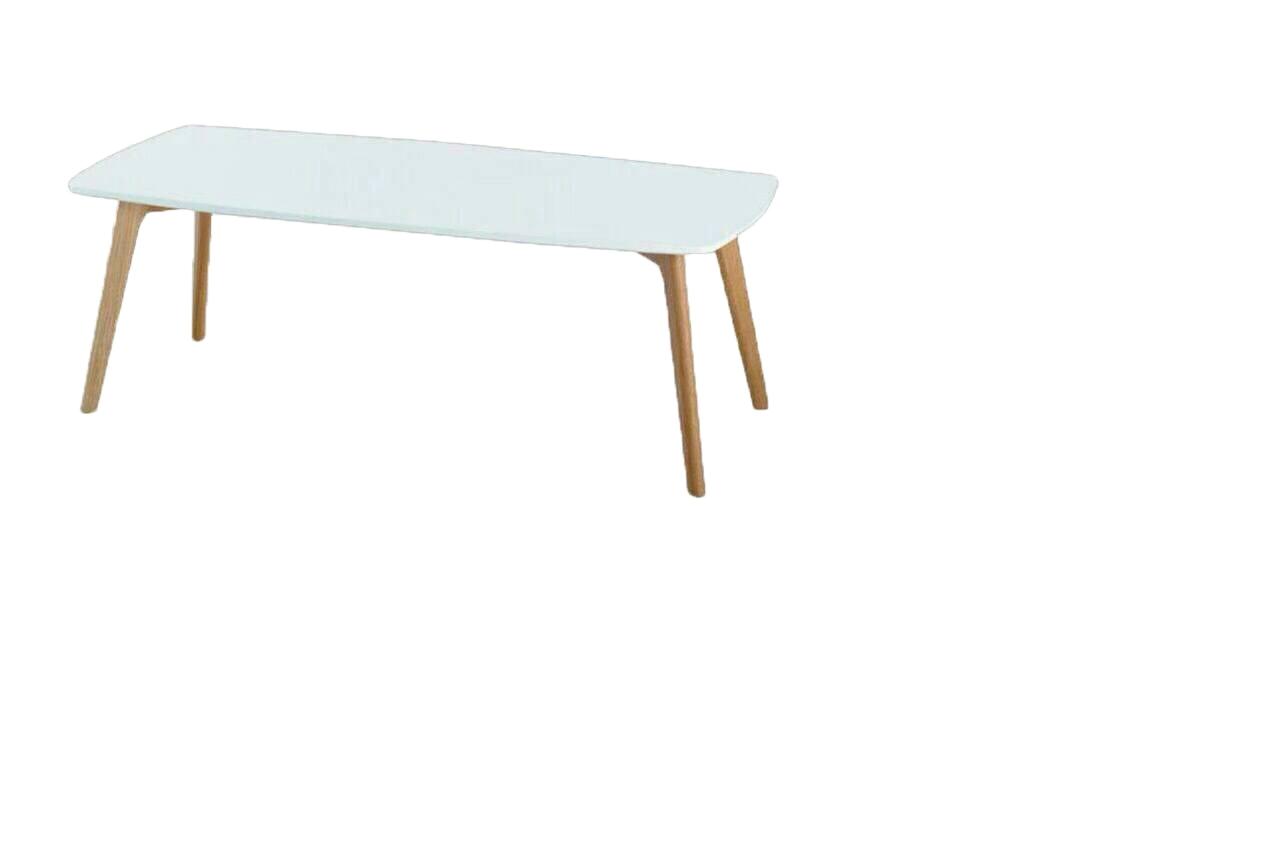 โต๊ะกลางโซฟาขาไม้โอ๊คแท้หน้าไม้