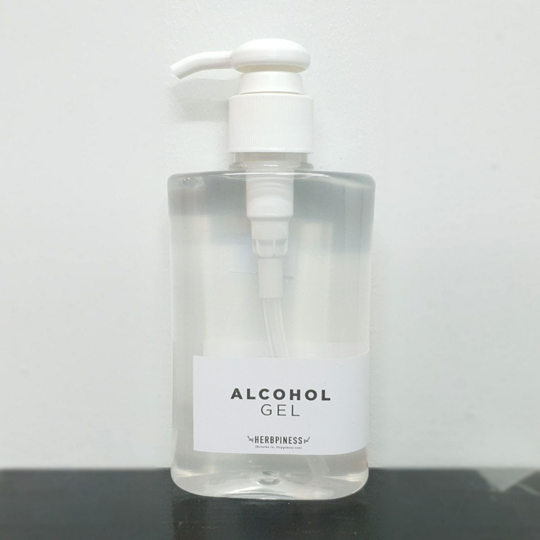Herbpiness Alcohol Gel 200ml.