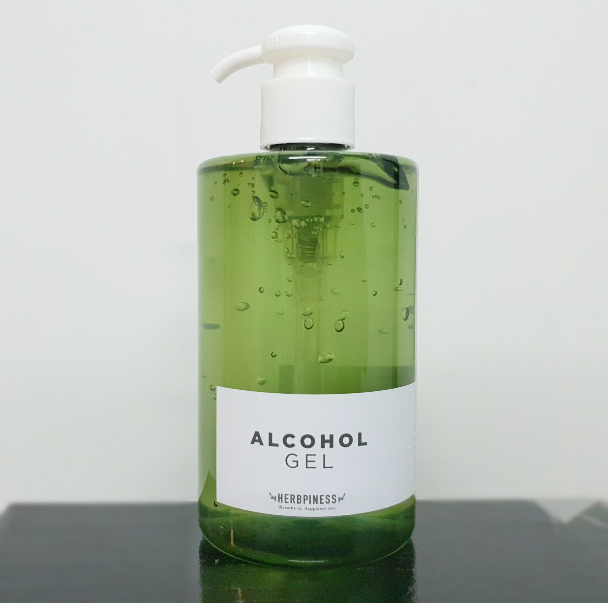 Herbpiness Alcohol Gel 300ml.