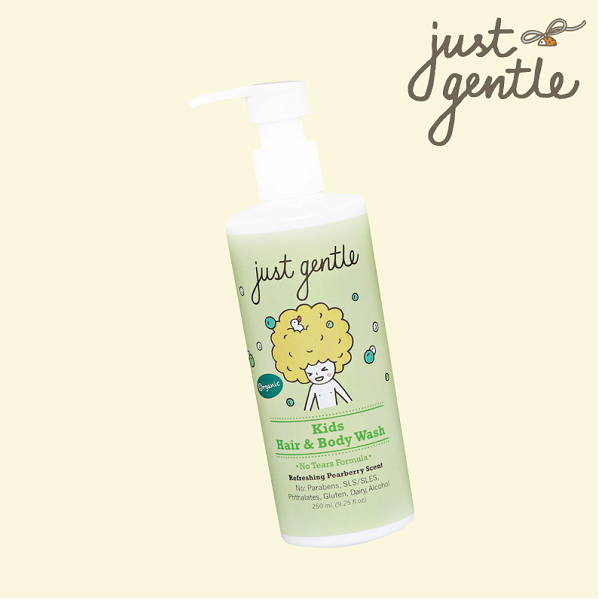 Just Gentle Kids Hair and Body Wash