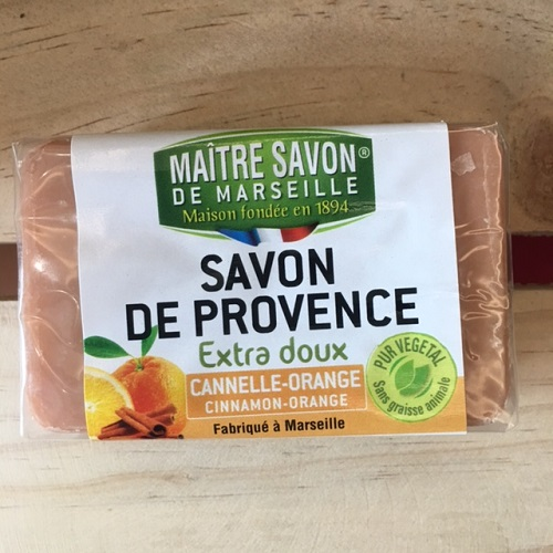 Savon De Provence soap Cinnamon-Orange 100g