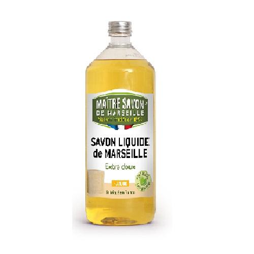 SAVON LIQUIDE DE MARSEILLE EXTRA DOUX  Nature 1L