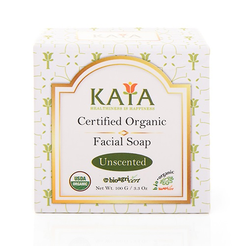 KAYA  USDA Certified Organic Facial Soap (Unscented) 100g