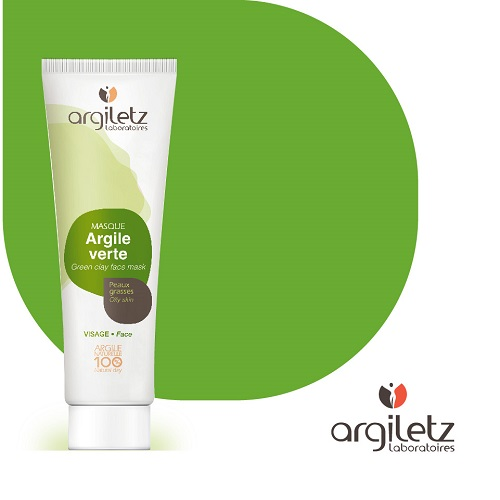 Argiletz GREEN CLAY FACE MASK PASTE 100g