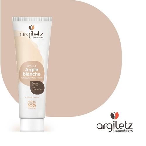 Argiletz WHITE CLAY FACE MASK PASTE 100g