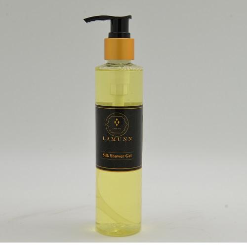 LAMUNN silk shower gel สบู่เหลวอาบน้ำ 200ml