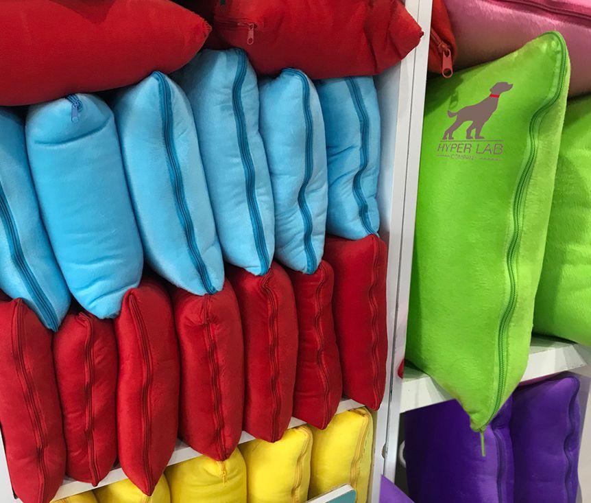 สีหมอนผ้าห่ม
