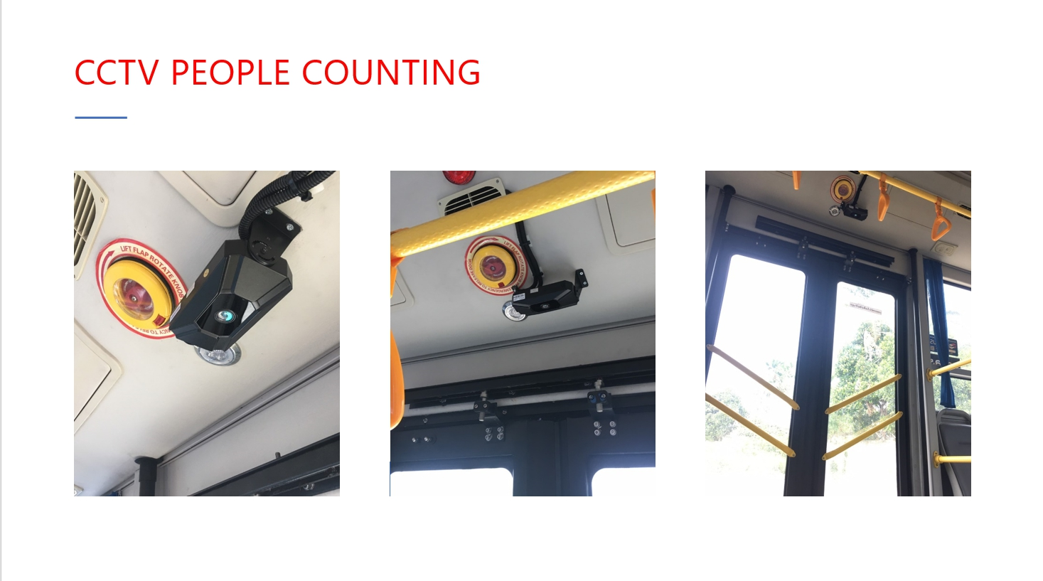 CCTV People Counting