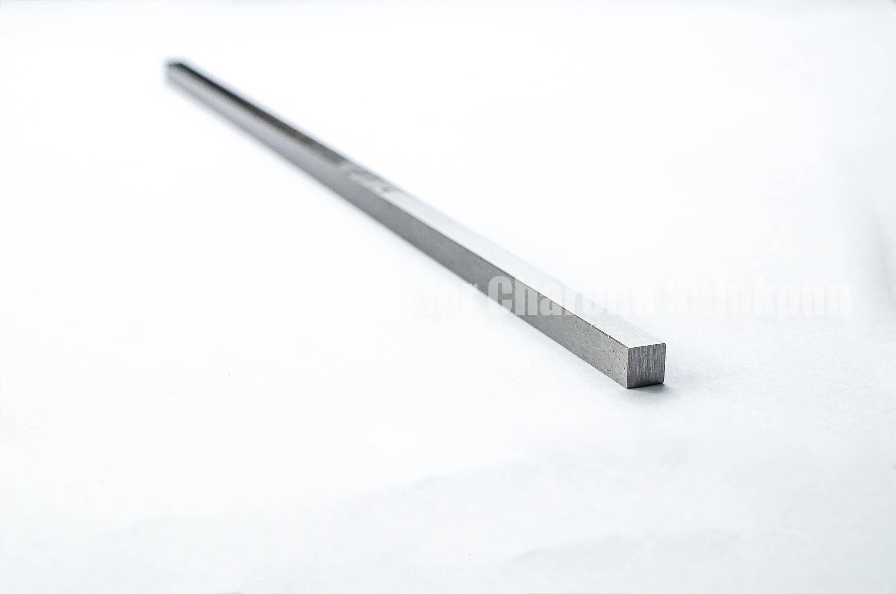ลิ่มแท่งเหล็ก/เหล็กแท่งสี่เหลี่ยมตัน S45C 2x2x300 mm
