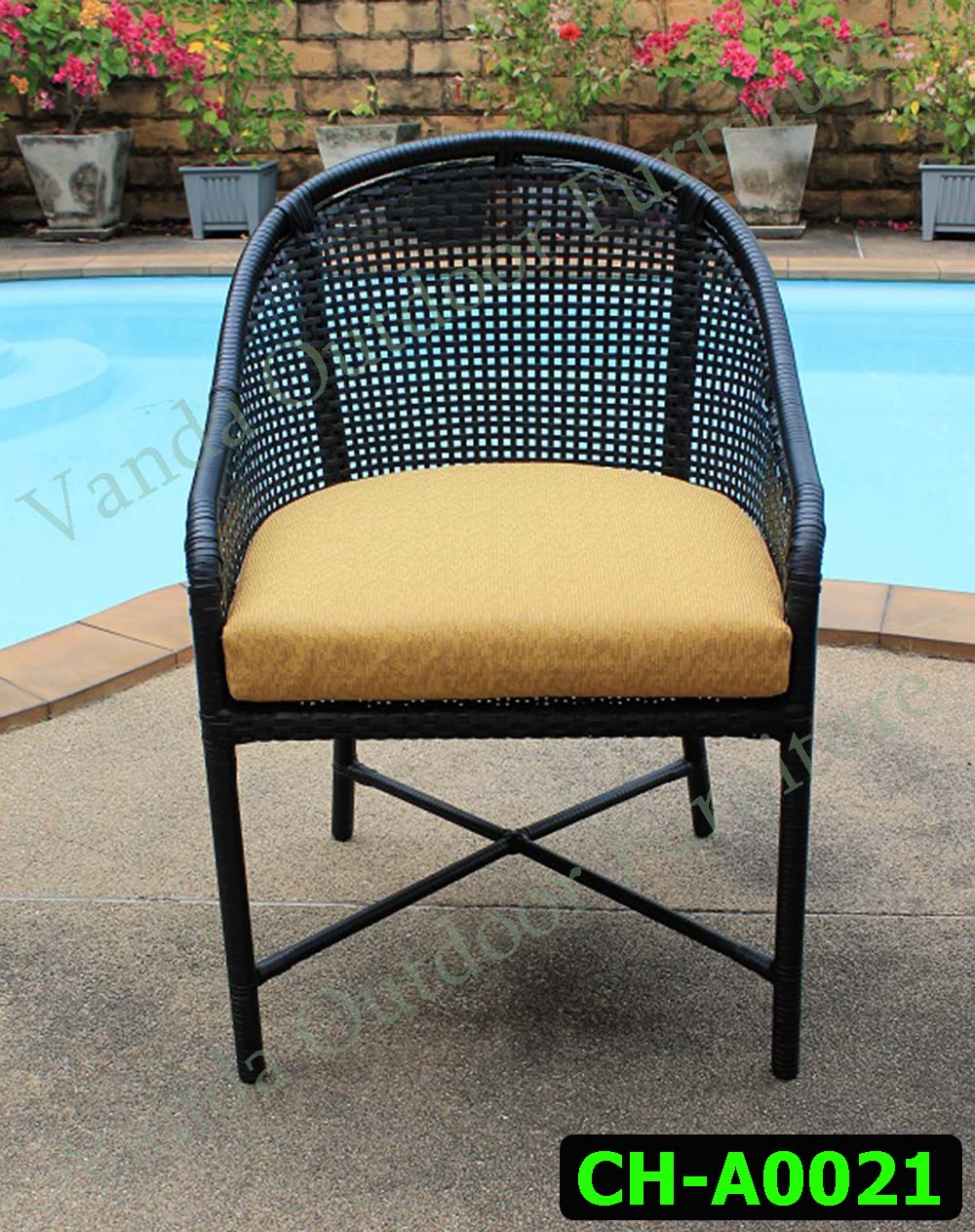 Rattan Chair Product code CH-A0021