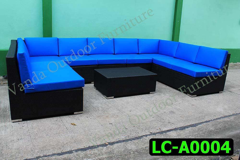 Rattan Sofa set Product code LC-A0004