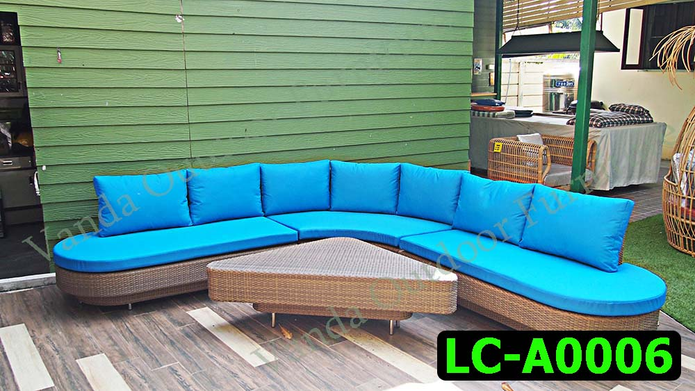 Rattan Sofa set Product code LC-A0006