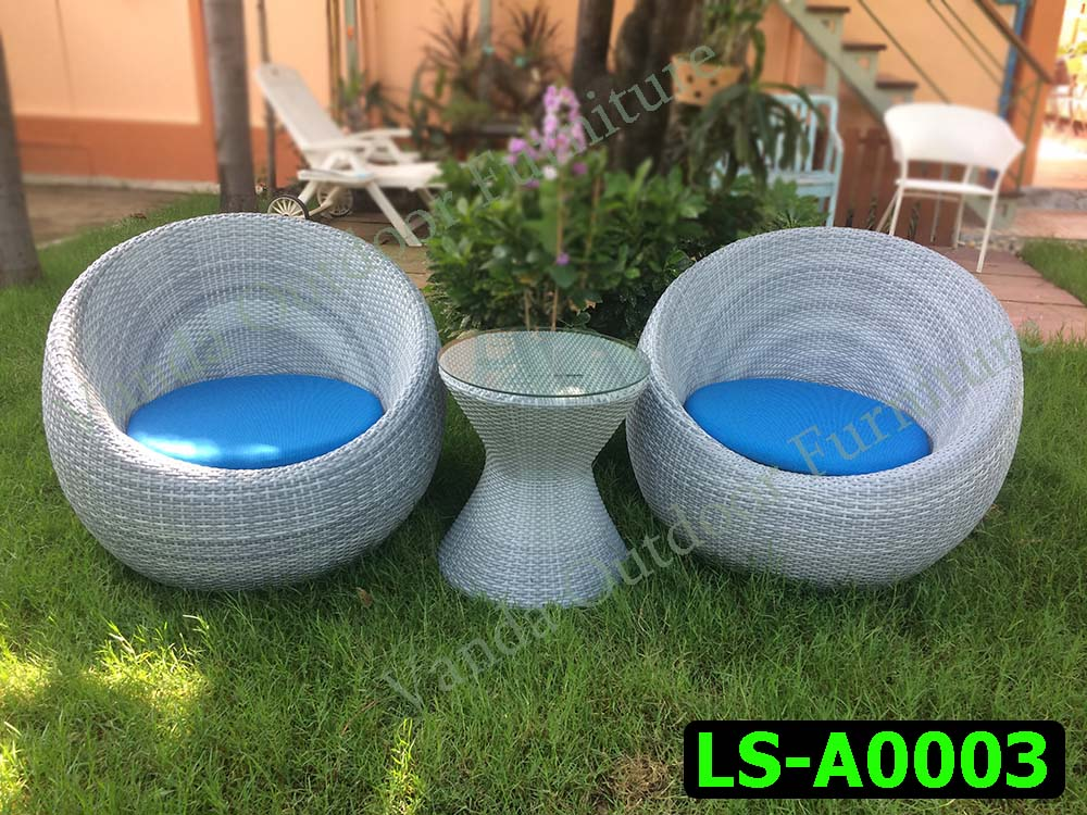 Rattan Sofa set Product code LS-A0003