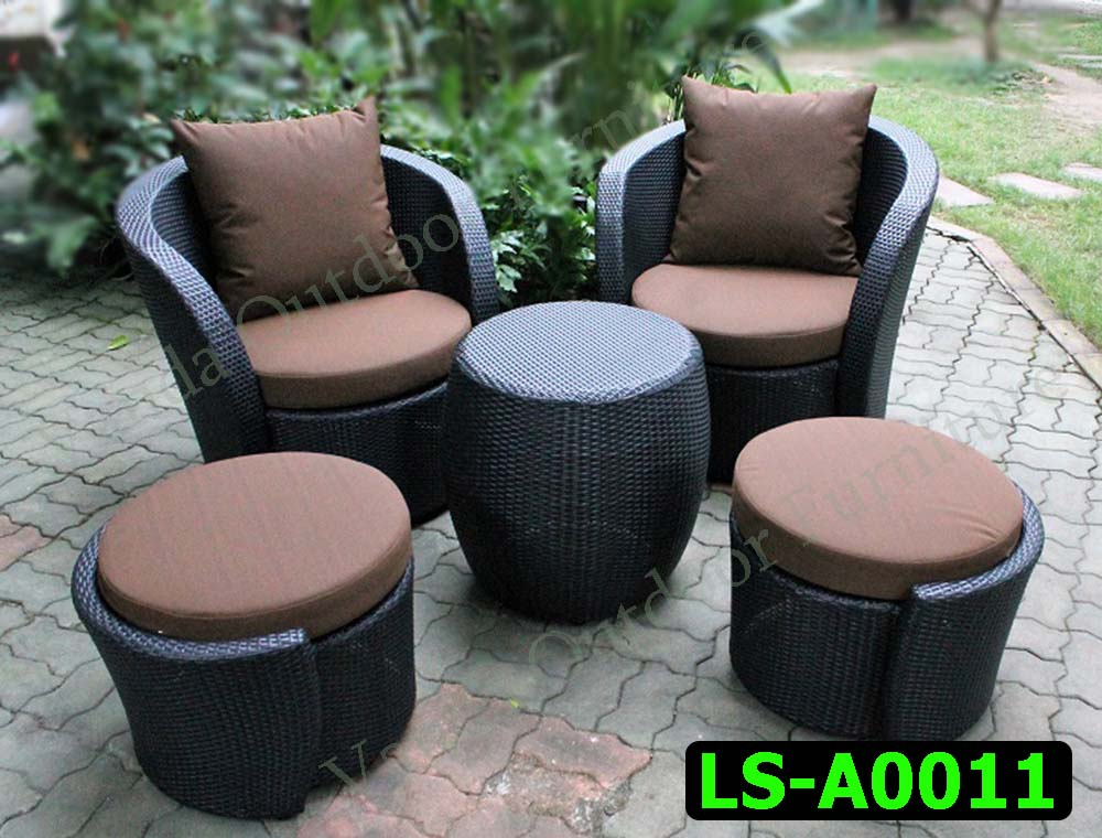 Rattan Sofa set Product code LS-A0011