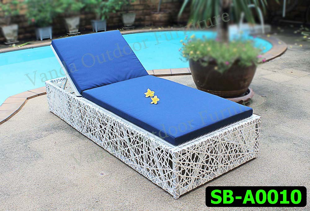 Rattan Sun Lounger/Bed Product code SB-A0010