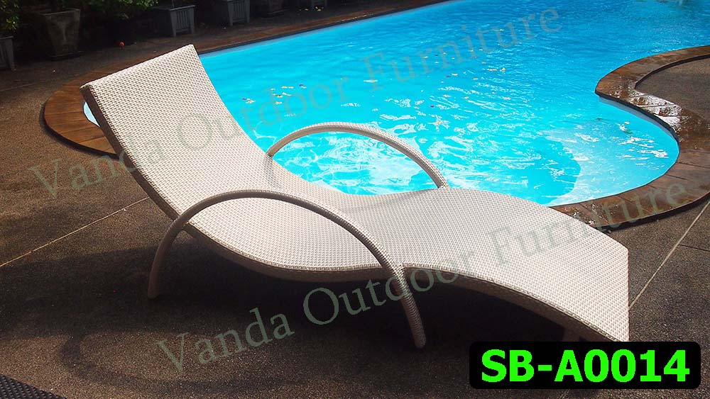 Rattan Sun Lounger/Bed Product code SB-A0014