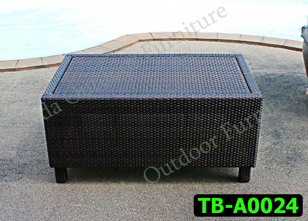 โต๊ะหวายเทียม รหัสสินค้า TB-A0024