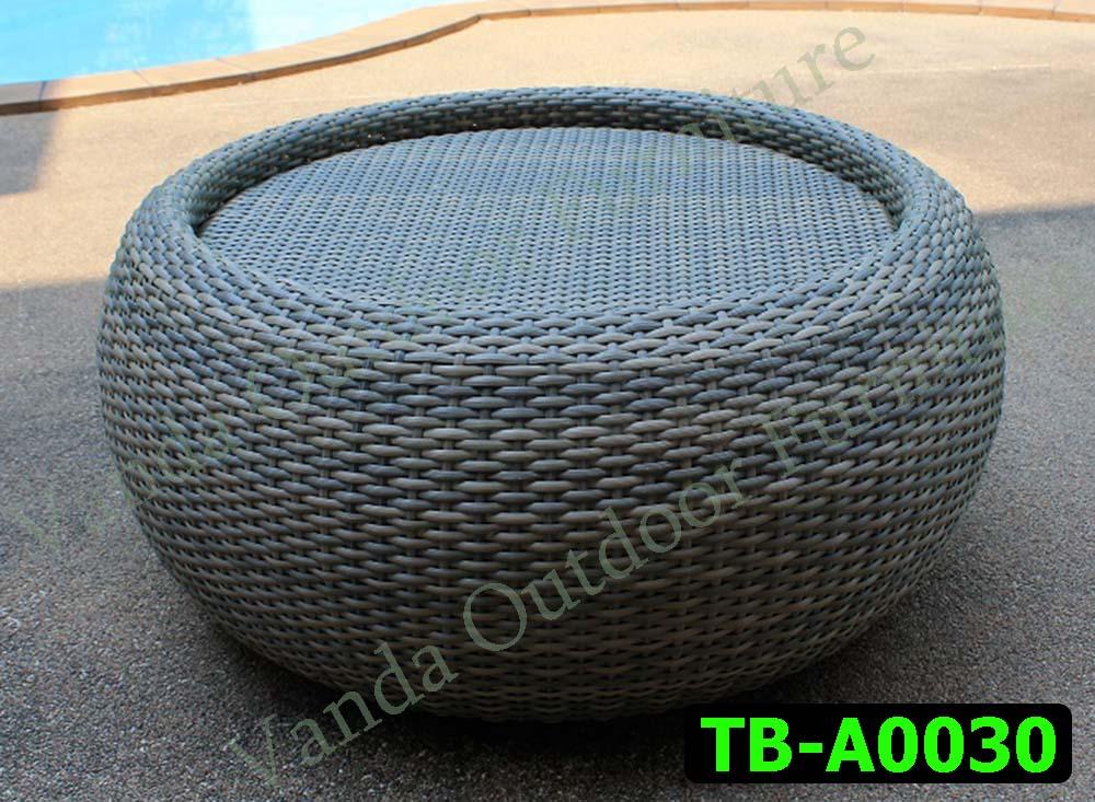 โต๊ะหวายเทียม รหัสสินค้า TB-A0030