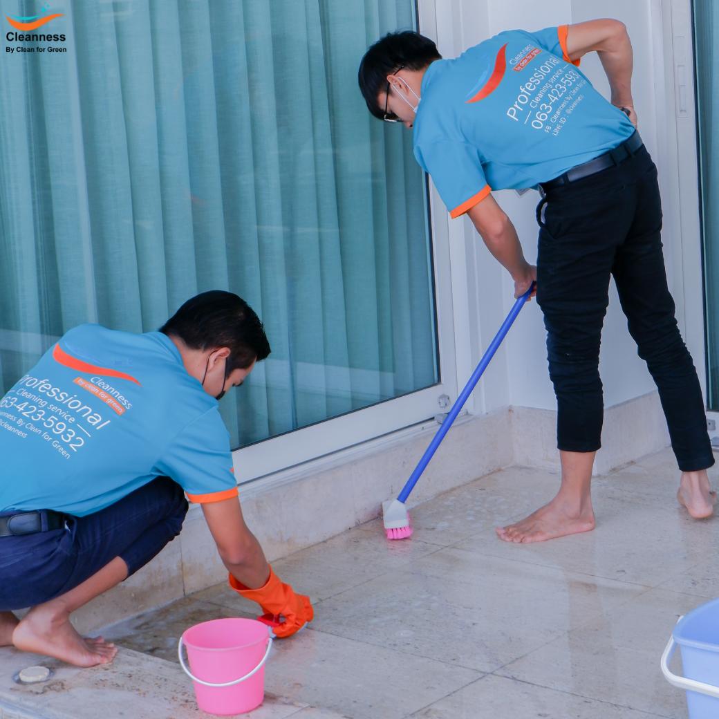 ทำความสะอาดทั่วไป, Deep cleaning, Big Cleaning