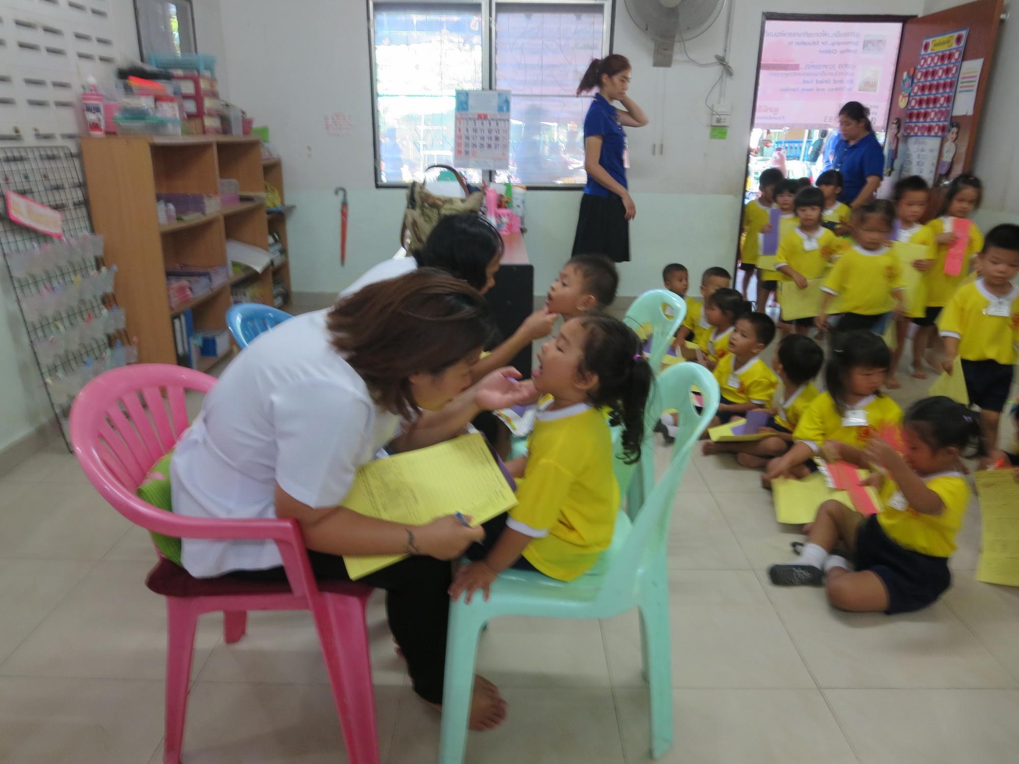 โครงการสุขวิทยาอนามัยและพัฒนาชุมชน