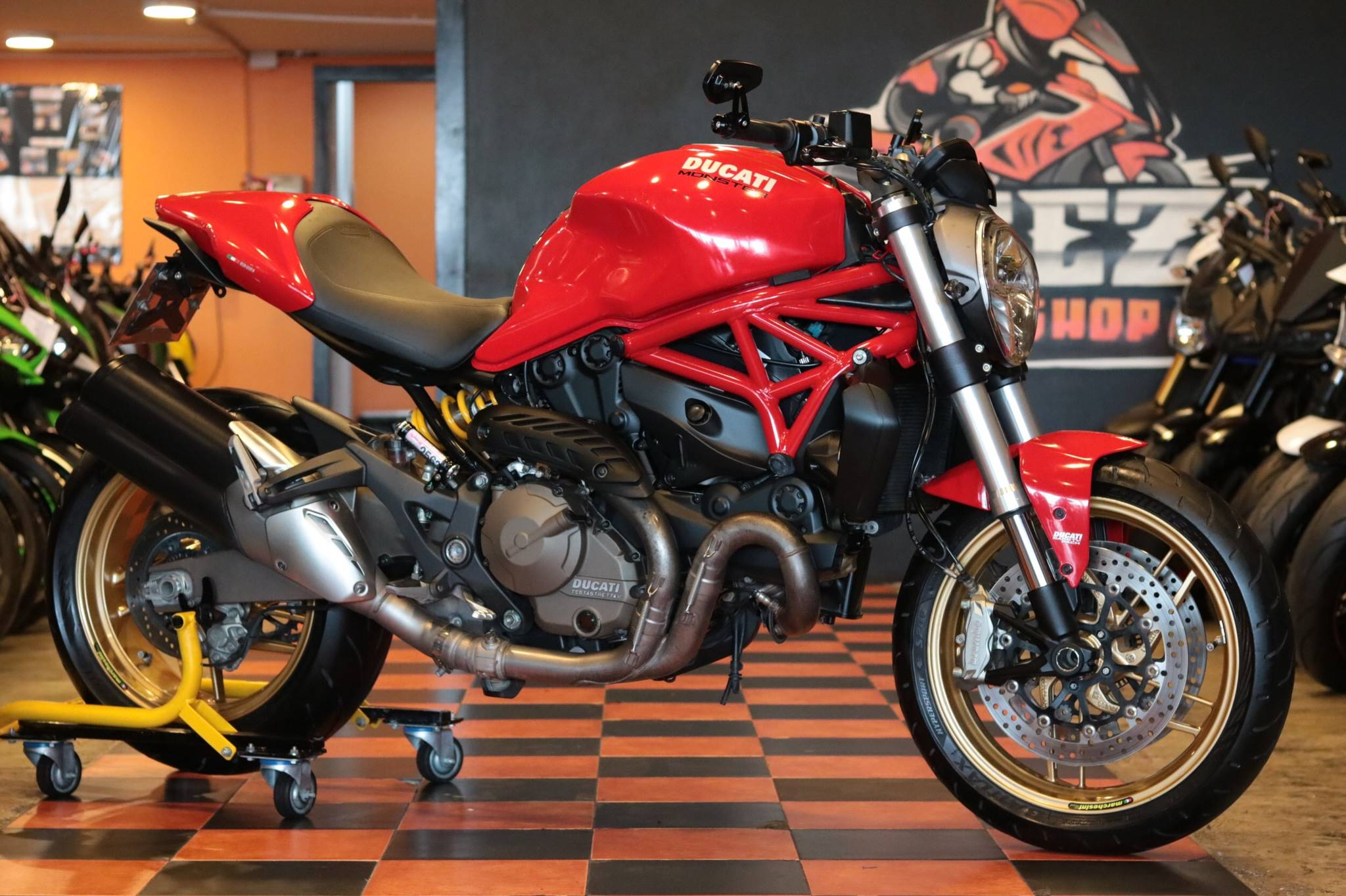 Ducati Monster 821 ABS ปี 2015