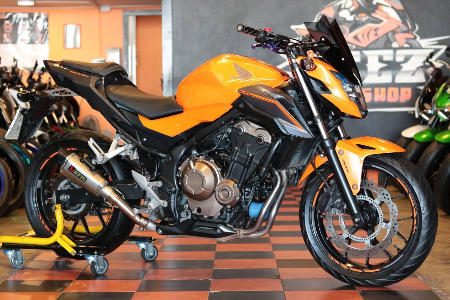 ขาย Honda CB500F ABS ปี 2018 แต่งเต็ม สภาพสวยกิ๊บ