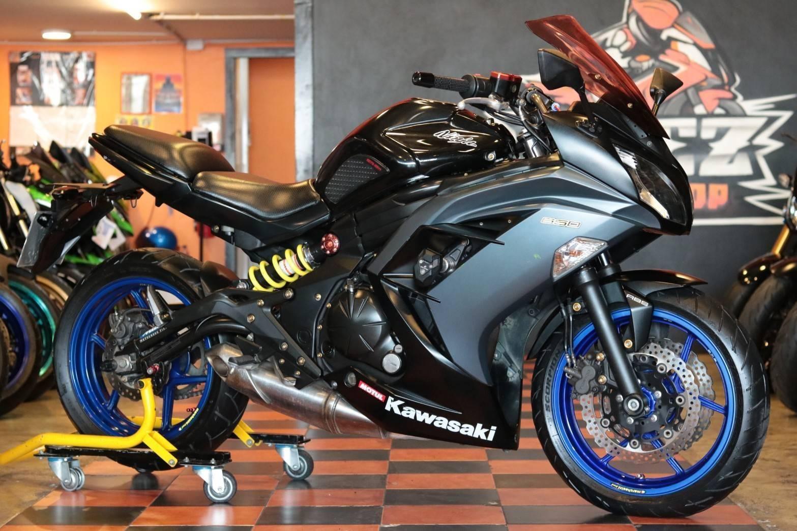 ขาย Kawasaki Ninja 650 ABS ปี 2014 สภาพป้ายแดง พร้อมออกทริป