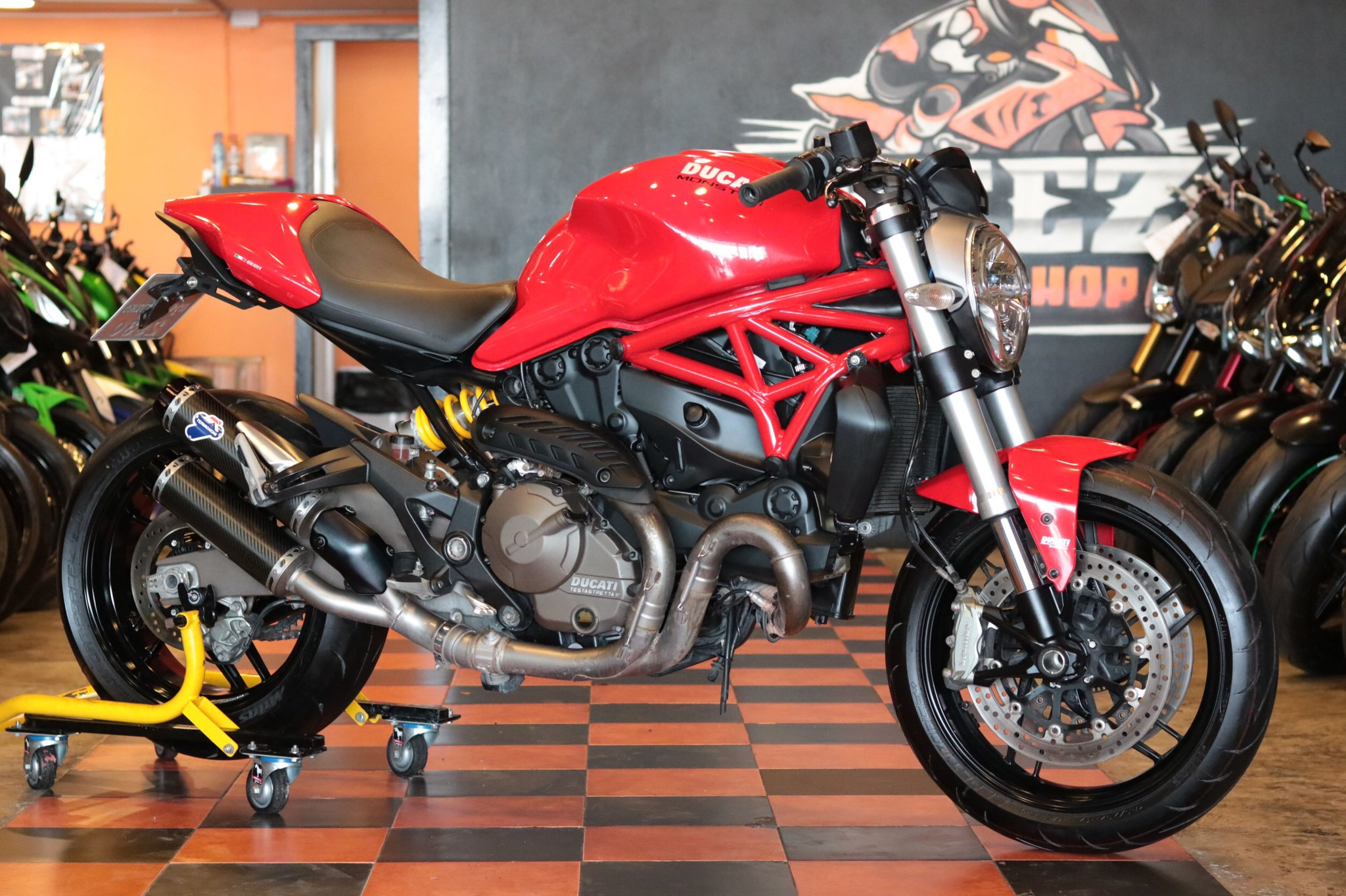 Ducati Monster 821 Performance ABS ปี 2016