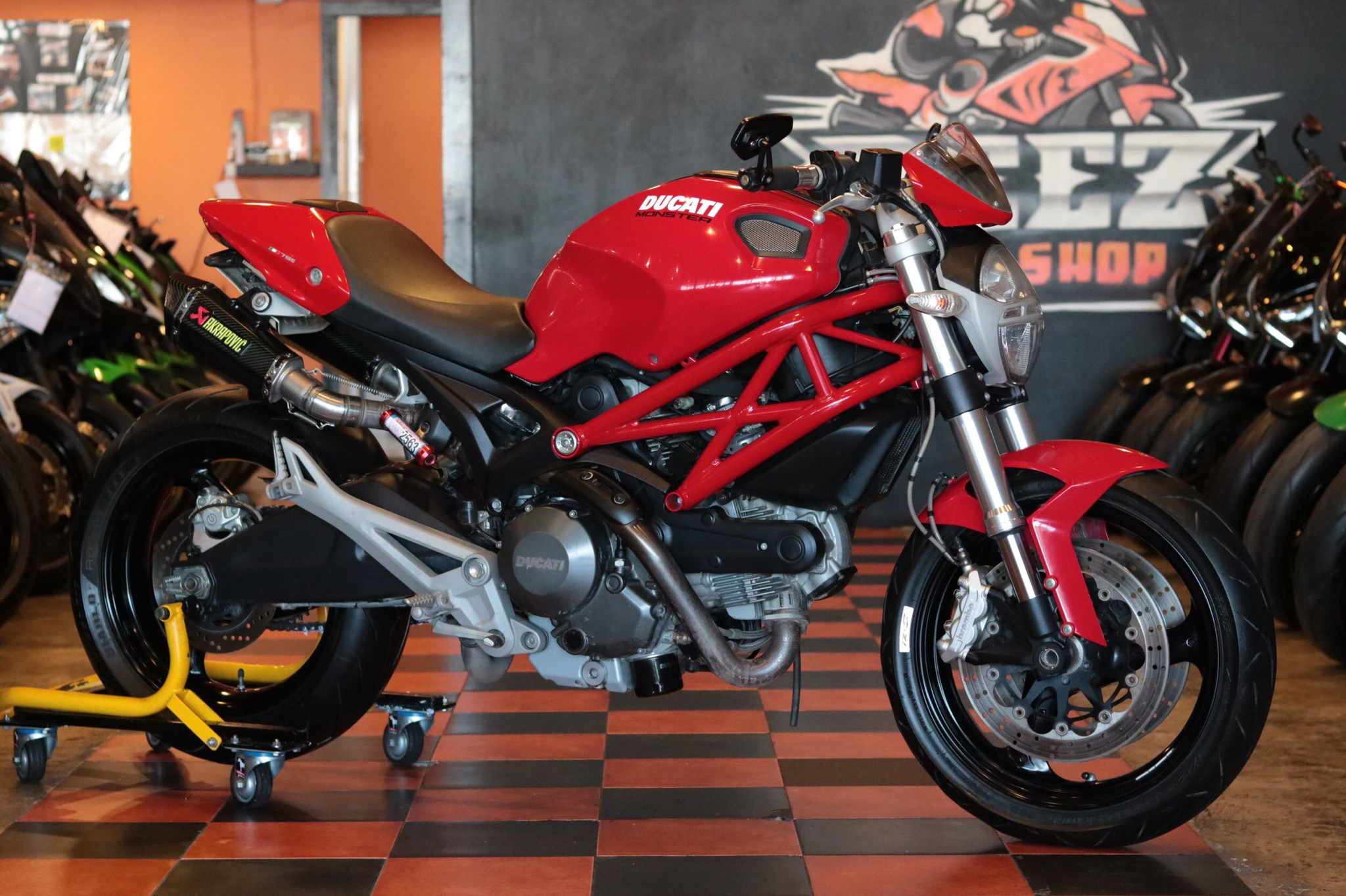 Ducati Monster 795 ABS ปี 2013