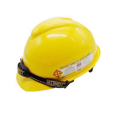 AT INDY หมวกนิรภัย (มี มอก.) สีเหลือง