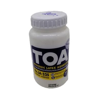กาวลาเท็กซ์อนามัยอเนกประสงค์คุณภาพสูง TOA รุ่น LA22S 8 ออนซ์