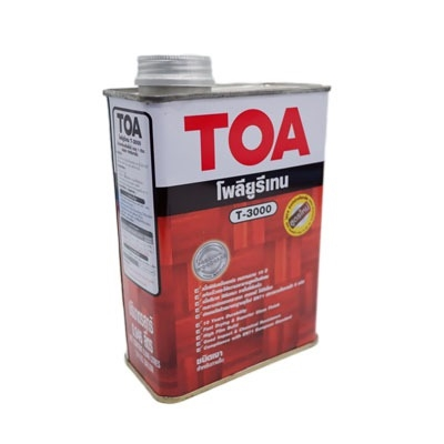 TOA  ทีโอเอ T-3000 โพลียูรีเทน ชนิดเงา สำหรับภายใน ขนาด 0.946 ลิตร