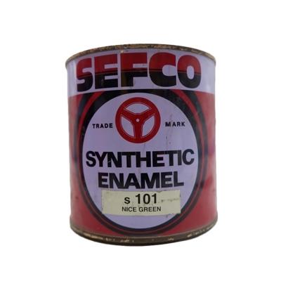 SEFCO สีเคลือบเงาเซฟโก้ สำหรับช้ภายนอกและภายใน S 101 NICE GREEN ขนาด 0.85 ลิตร