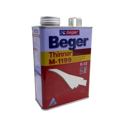 Beger ทินเนอร์ผสมสีย้อมไม้เบเยอร์ M-1199 ขนาด 1/4 กล. 0.946 ลิตร