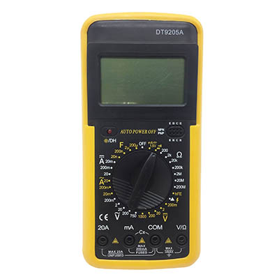 ดิจิตอลมัลติมิเตอร์ รุ่น DT9205A