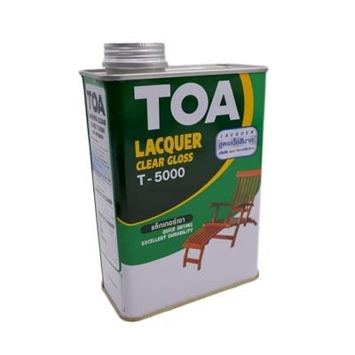 TOA แล็กเกอร์เงา T-5000 สำหรับภายใน ขนาด 0.946 ลิตร