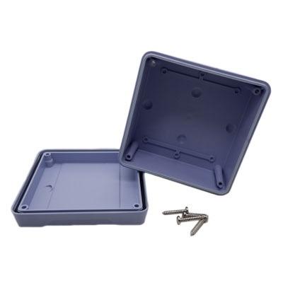 บล็อกกันน้ำ กล่องกันน้ำ บล็อกพักสาย สีเทา 4x4