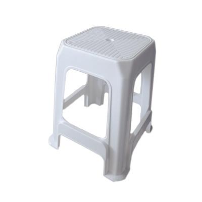 เก้าอี้ทรงเหลี่ยม สีขาว No.7003